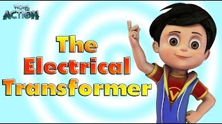 Cartoons in Hindi for kids | Vir:  The Robot Boy | The Electrical Transformer | WowKidz Action
