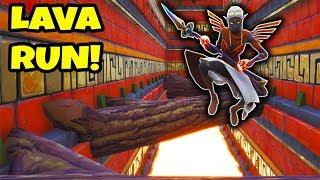 *NEW* FORTNITE LAVA DEATHRUN!! (Creative Mode)