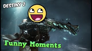 Under Levelled Idiots Complete 6 MAN STRIKE!? Destiny 2 Forsaken Funny Moments (I carried)
