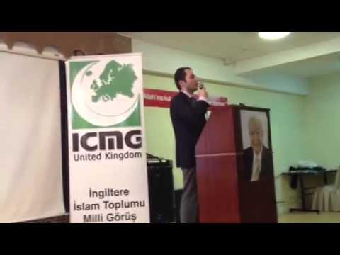 Fatih Erbakan'in Londra Konferansi 4  Bolum