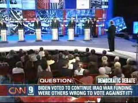 2007 NH Democratic Presidential Debate (Part 2)
