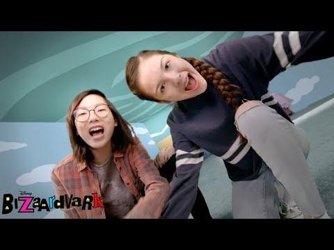 Flying Shoes 👠  Bizaardvark  Disney Channel