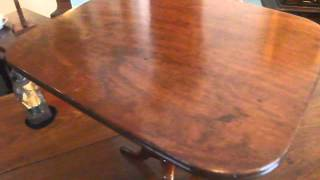 Regency 'sales-mans Sample' Mahogany Tilt-top Table