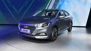 Новый Hyundai Solaris Verna 2017 в серийном виде