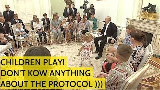 Putin Offers Flood-Affected Children Free Trip To St Pete & Stay In His Presidential Resort!