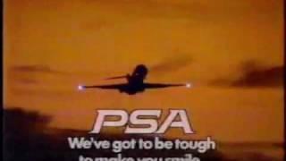 PSA  {Pacific Southwest Airlines}1985 ad