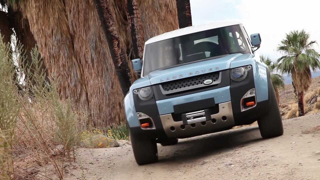 Land Rover Defender DC100 Concept OffRoad  YouTube