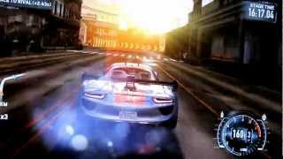 Need For Speed: The Run. The final race. 1080p PC Gaming filmed on video camera.