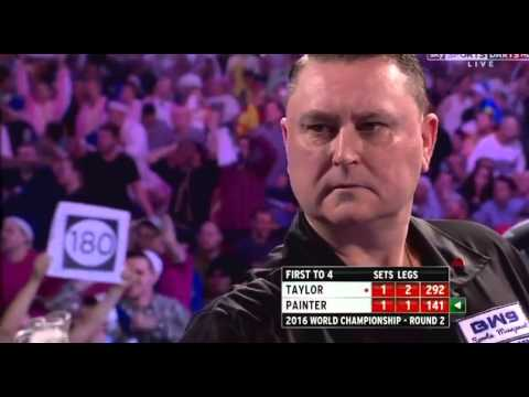 Kevin Painter 9 Darter Attempt - 2016 PDC World Championship