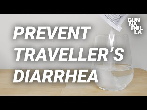 Travel Tips: How To Prevent Traveller's Diarrhea | Gunnarolla University