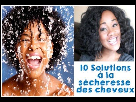 10 Solutions pour remédier à la sécheresse des cheveux