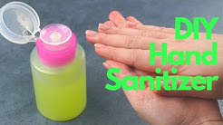 🤚🏻How to Make Your Own Hand Sanitizer Gel In 1 Minute - Quick & Easy!