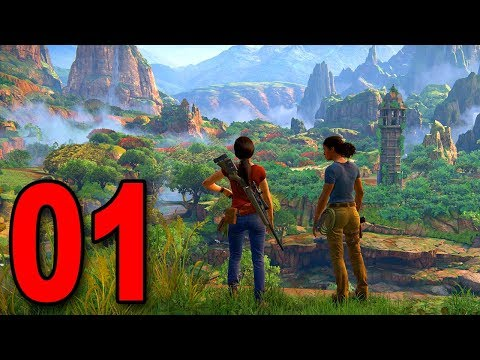 Uncharted: The Lost Legacy - Part 1 - The Beginning (PS4 Pro Gameplay)