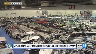 72nd annual Grand Rapids Boat Show underway