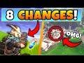 Fortnite Update: 8 SECRET CHANGES in the PORT A FORTRESS Patch! + Tilted Broken in Battle Royale!
