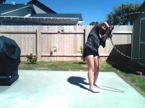 Hoopdancing to Totally Enormous Extinct Dinosaurs  Household Goodszeds dead remix