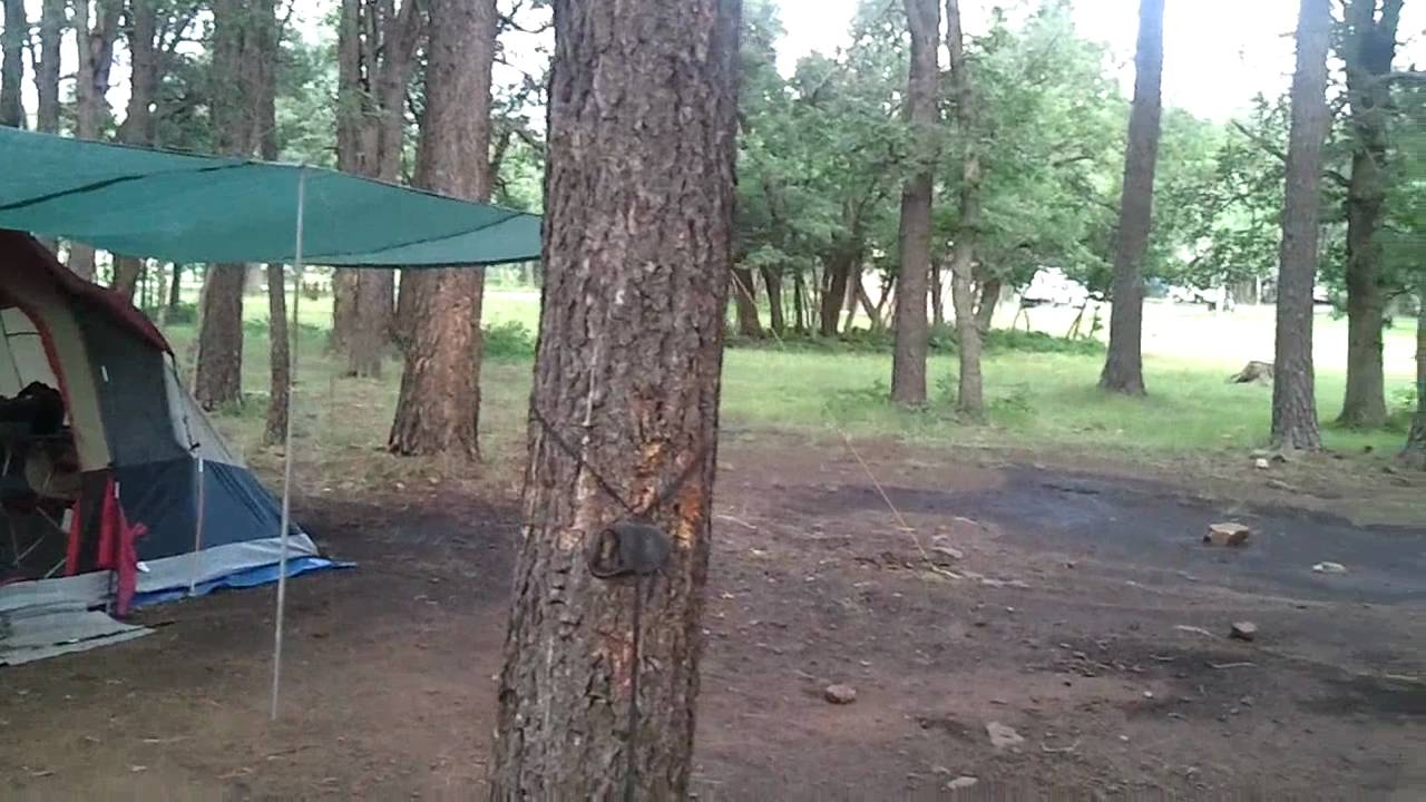 Aspen Campground At Woods Canyon Lake