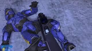 Halo 2 ragdoll impact test