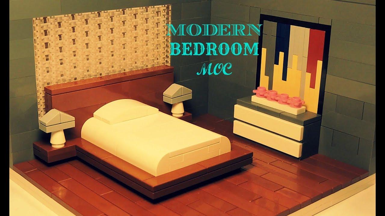 Lego Modern Bedroom Moc Youtube