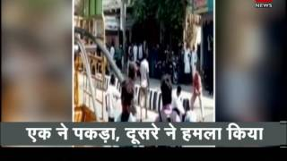आंध्र प्रदेश: बीच बाज़ार में काट डाला 20 साल के लड़के को| Boy hacked to death on road in A.P.