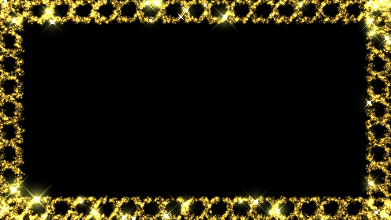 Funky Black And Gold Picture Frame Collection Picture