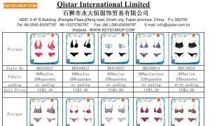 Women bikini catalogue for order production