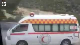وفاة امرأة بانقلاب حافلة تُقِل مهجري خان الشيح إلى إدلب