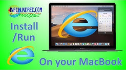 How to install internet explorer in macbook