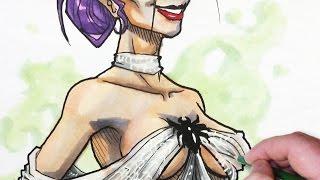 Character Design: Sexy Half-Spider Whore