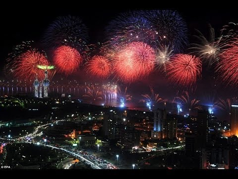 Biggest fireworks display of all time (Guinness World Records )