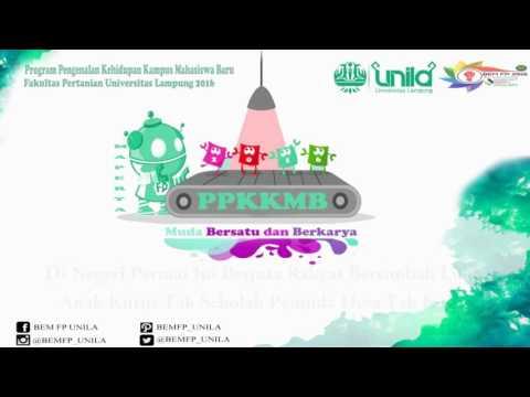 Lagu Wajib - Darah Juang PPKKMB Faperta Unila 2016