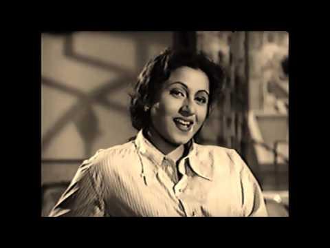 # 0 LATA JI~Film~BE QASOOR~{1950}~Hue Un Se Naina Chaar~ Great One of My Favs