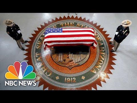 Memorial Service Honoring Senator John McCain | NBC News