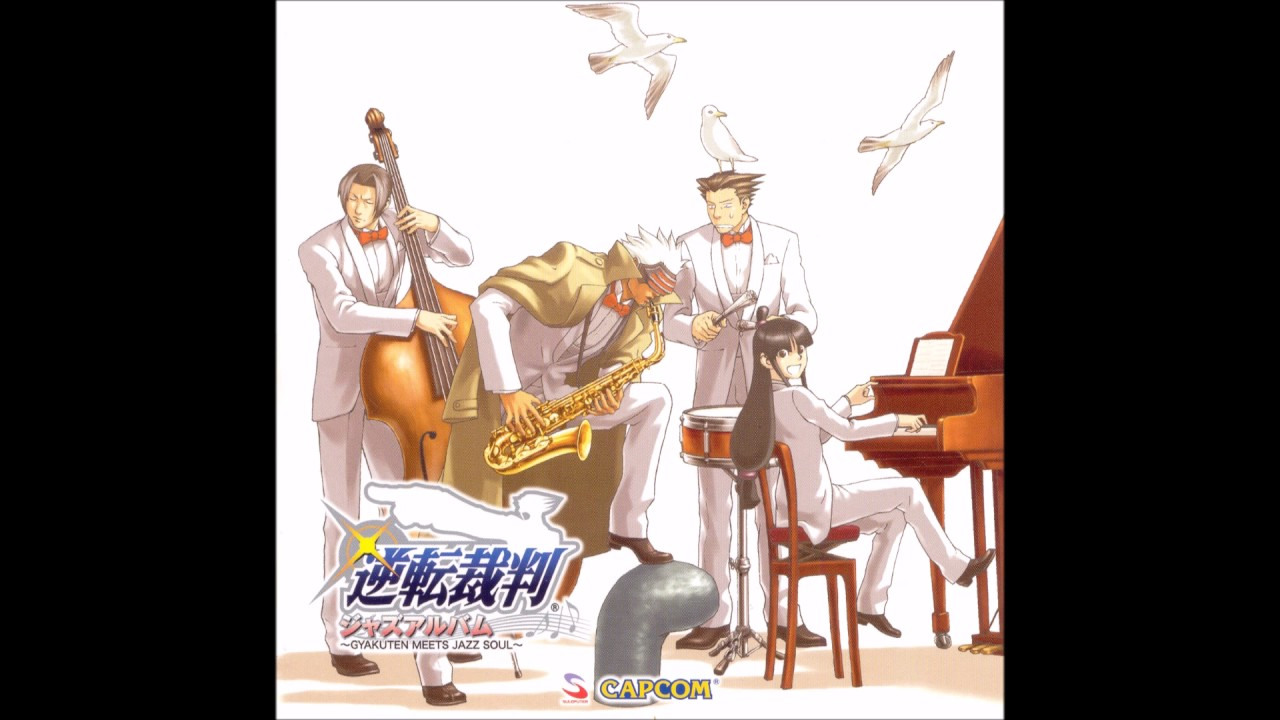Ace Attorney - Fragrance of Coffee (Jazz Version) + Rainy Mood ...