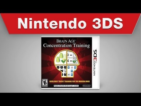 Nintendo 3DS - Brain Age: Concentration Training Launch Trailer