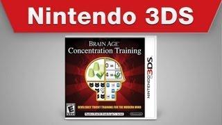 Nintendo 3DS - Brain Age: Concentration Training Launch Trailer