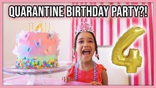 Ziya's 4th Birthday Party (in Lockdown!) | MOM VLOG
