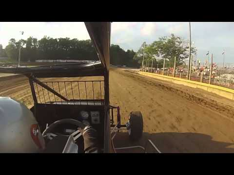Cory Clay Lincoln Park Speedway Hot Laps 7-18-15