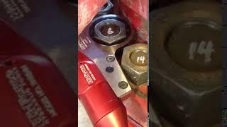 TWH54N Hydraulic Torque Wrench close up on a BOP