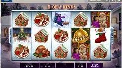 Happy Holiday Merry Christmas Theme Online Slot Machine Live Play Free Spins Nice BONUS Win