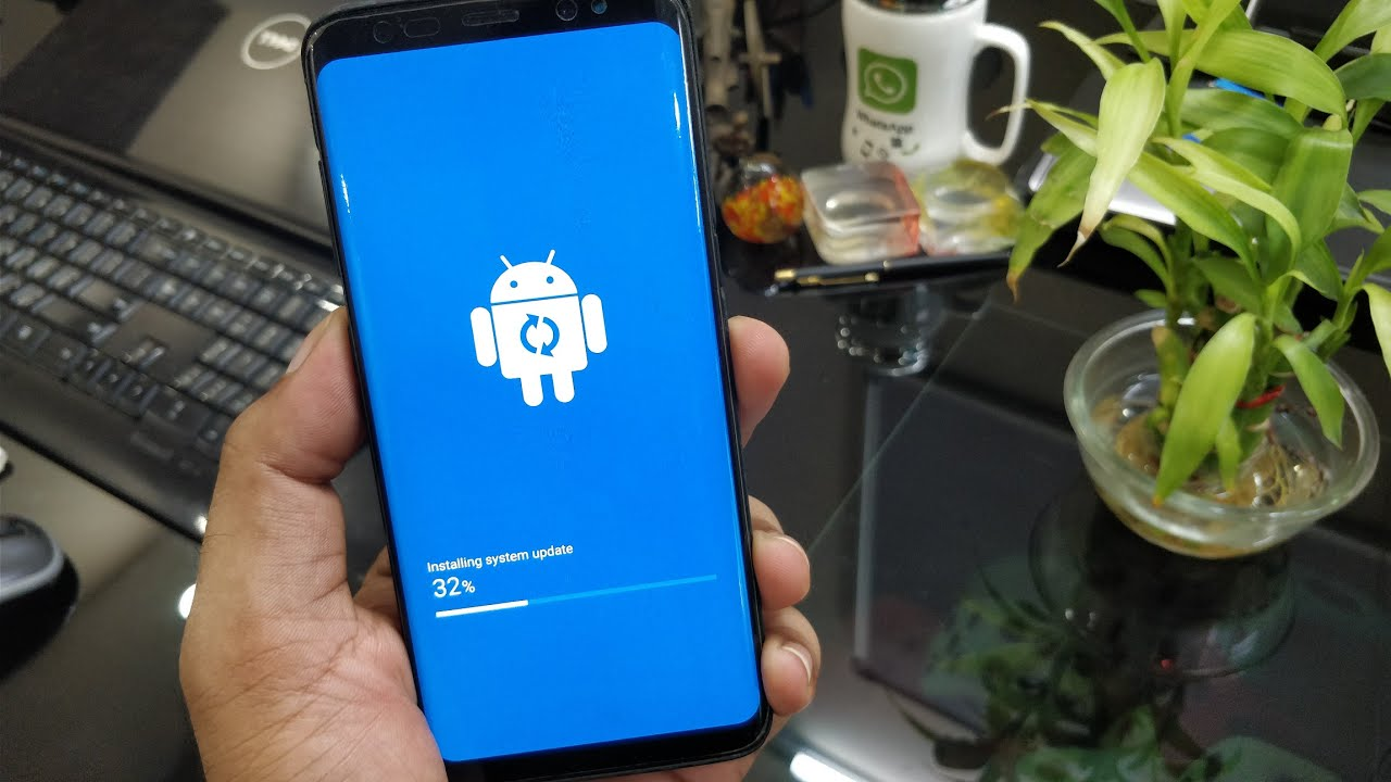 galaxy s8 software update review improved wireless. Black Bedroom Furniture Sets. Home Design Ideas