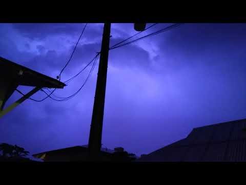 3 week ago storm in Hawaiian Islands