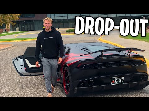 Driving My Lamborghini To The Highschool I Dropped Out Of (Reactions)