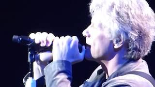 Bon Jovi - Wanted Dead or Alive - Orlando 2018 - HD