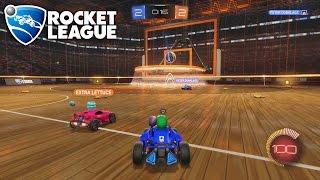 Rocket League Basketball - PETER DUNKLAGE!