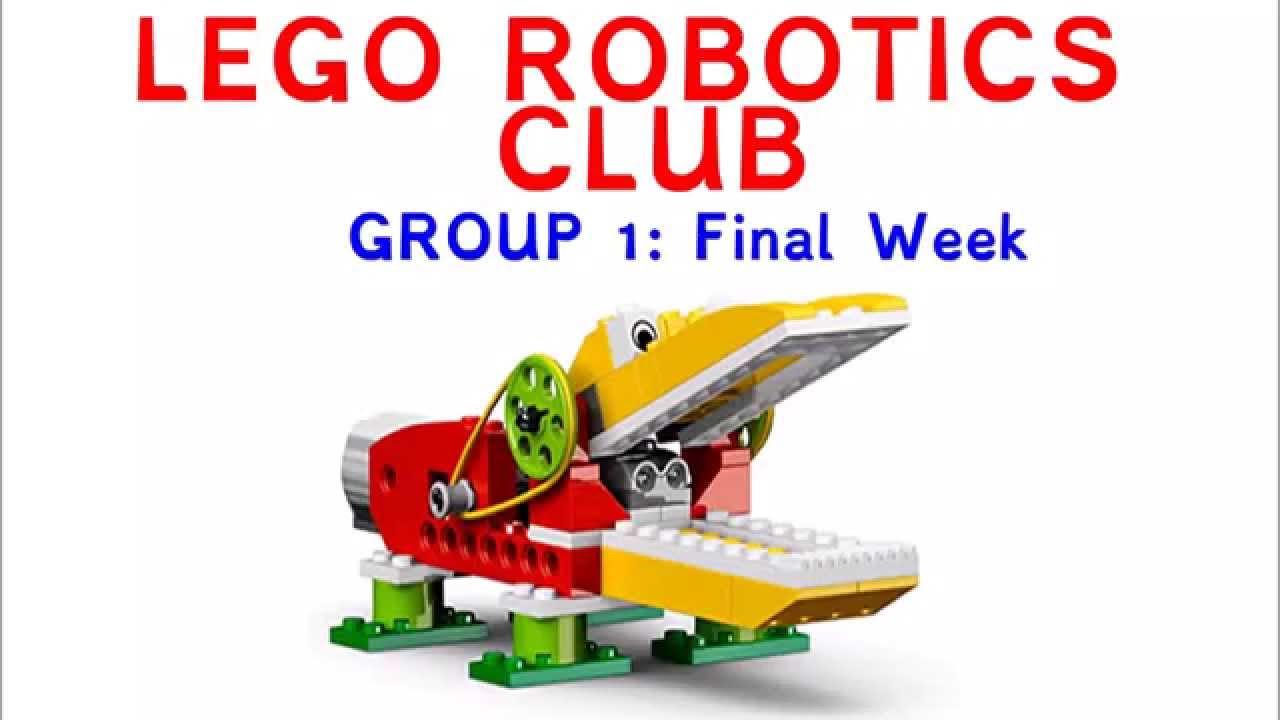 Lego Robotics Club Group 1 Youtube