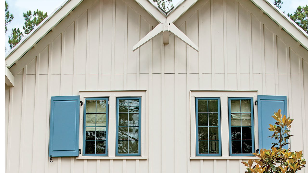 Try vertical siding for an updated look southern living Vinyl siding vertical