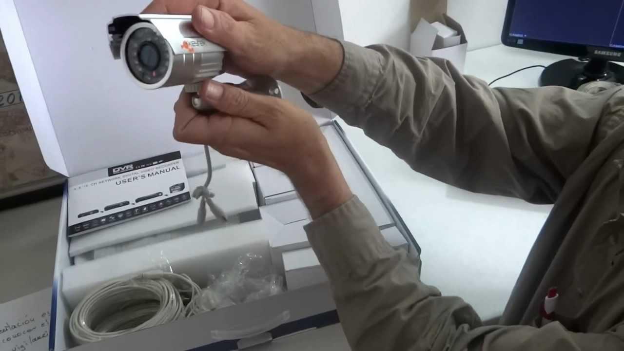 Cctv seguridad residencial kit 4 camaras youtube - Camaras para casa ...
