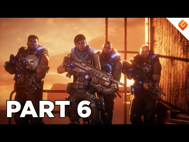 GEARS 5 Walkthrough Gameplay Part 6 - No Commentary