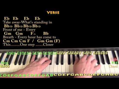 Piano 1000 years piano chords : A Thousand Years (Christina Perri) Piano Cover Lesson in Bb with ...